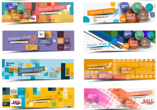 Sale Banners free vector set