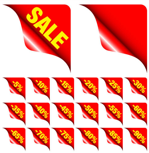 Sale Elements Set 2 vectors