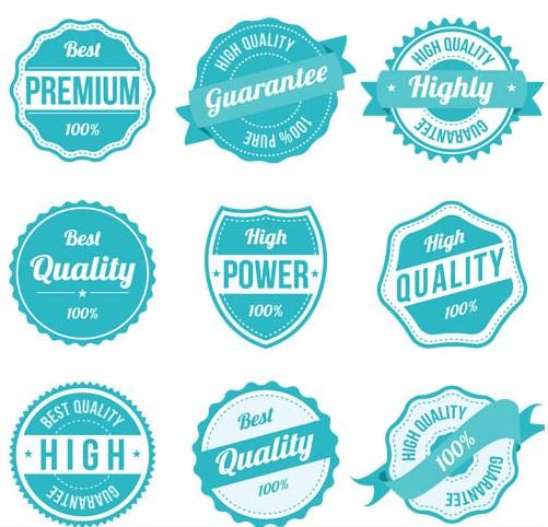 Sale Retro Labels vector graphics