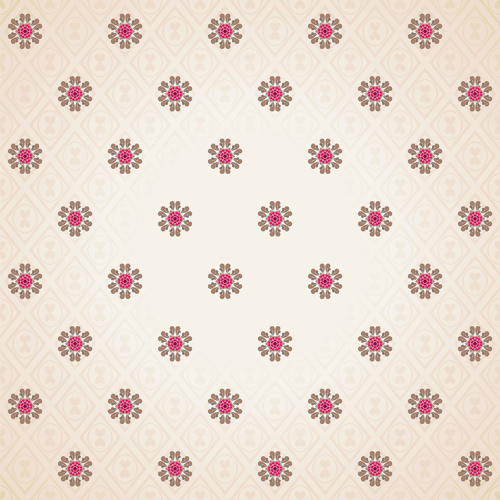 Seamless pattern floral 5 vector