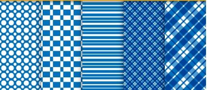 Seamless patterns set 05 vector
