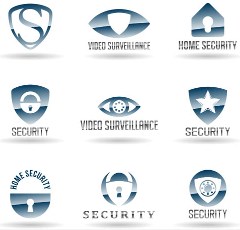 Security Company Logo art vector
