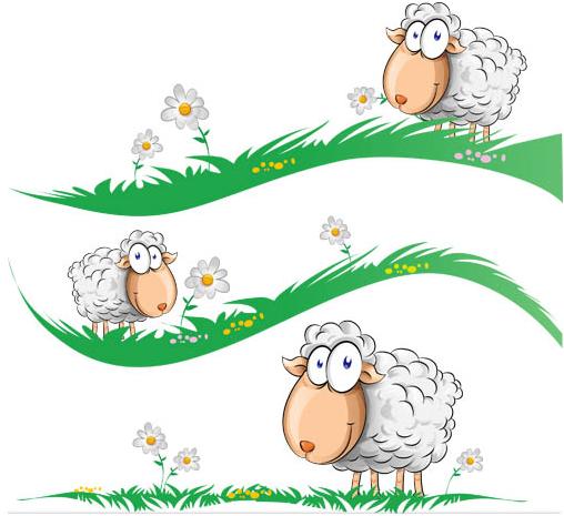 Sheep free vector design