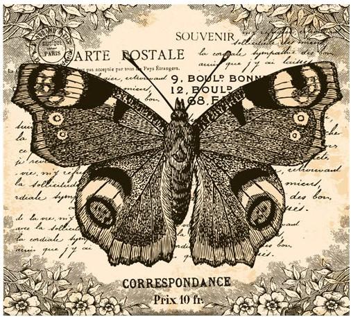 Shiny Butterflies Backgrounds vector