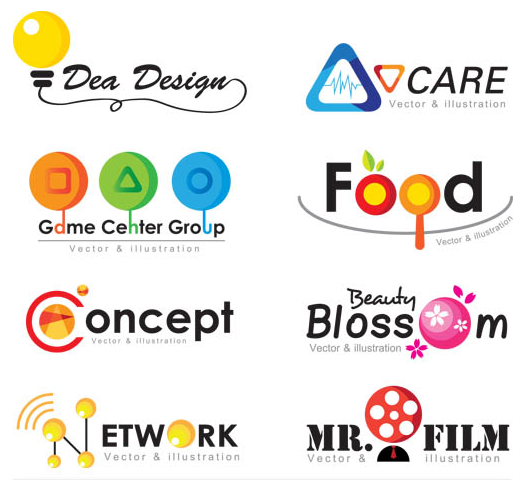 Shiny Creative Logo 3 vector