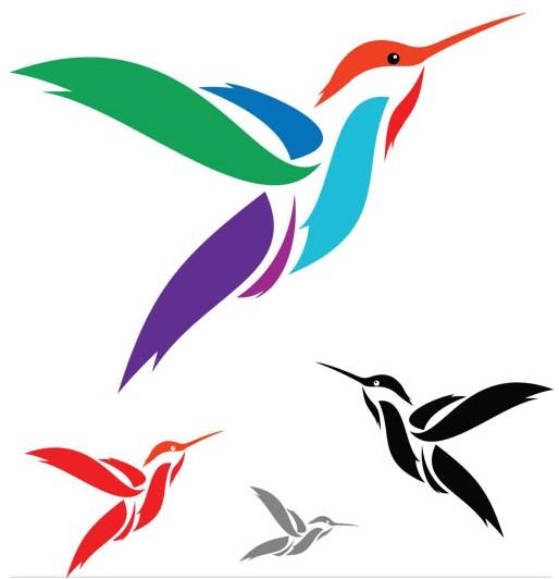 Shiny Logo free vector