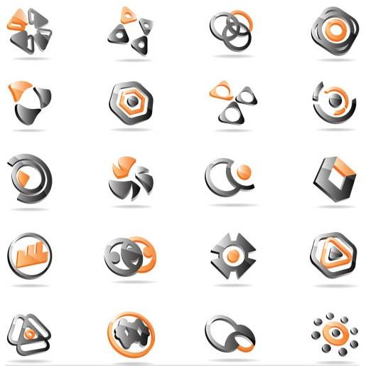 Shiny Logotypes 2 vectors