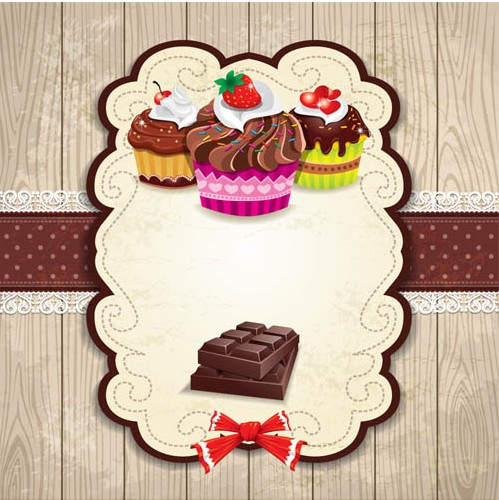 Shiny Sweets Backgrounds art vector