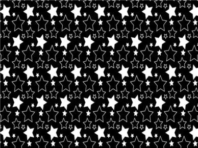 Simple Stars Pattern vector