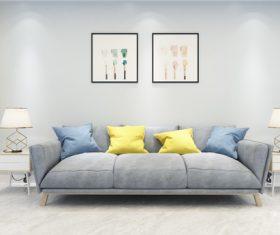 Simple home display interior decoration Stock Photo 05