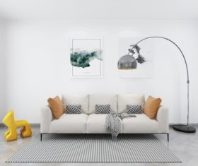 Simple home display interior decoration Stock Photo 06