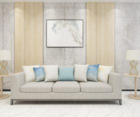 Simple home display interior decoration Stock Photo 09