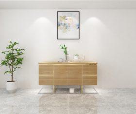 Simple home display interior decoration Stock Photo 11
