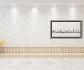 Simple home display interior decoration Stock Photo 12