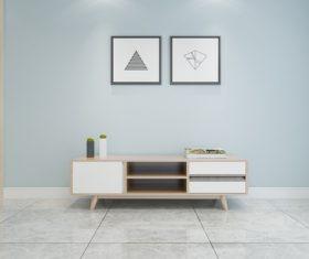 Simple home display interior decoration Stock Photo 13
