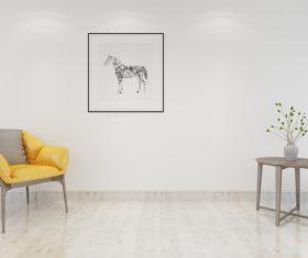 Simple home display interior decoration Stock Photo 14