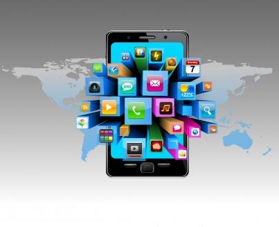 Smart phone concept Free vector