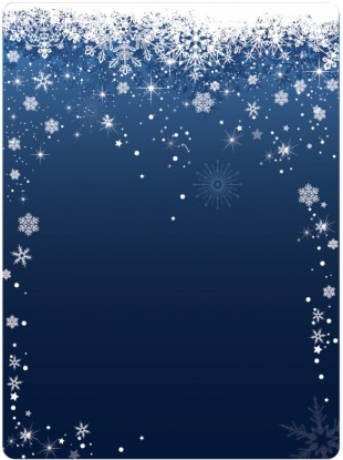 Snowflake Background design vector