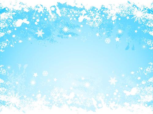 Snowflake grunge background vector