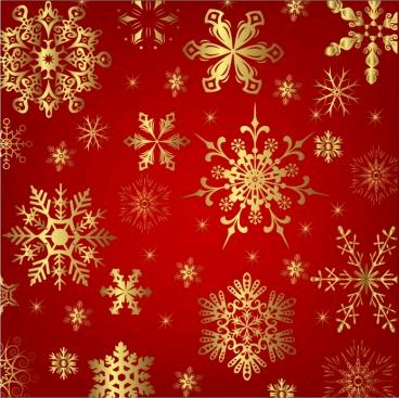 Snowflake pattern free Illustration vector