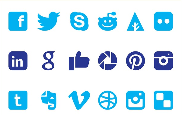 Social MediIcons Graphics vectors