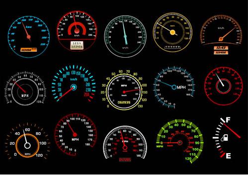 Speedometers free vector free download