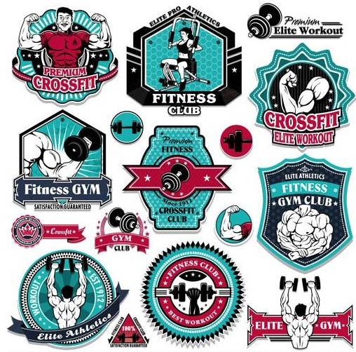 Sport Labels vectors