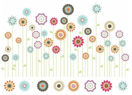 Spring Flower Garden vector