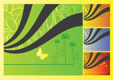 Spring Flowers Graphics vector
