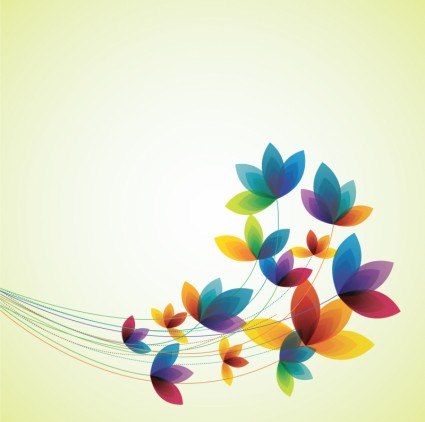 Spring flowers free Illustration vector