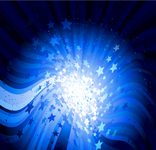 Star abstract background set vector