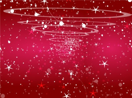 Starry Red Background vector