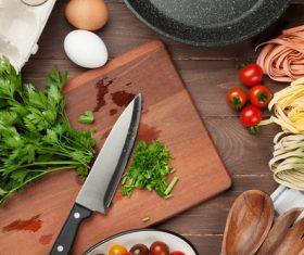 Stock Photo Cut pasta ingredients 03