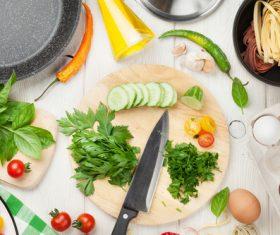 Stock Photo Cut pasta ingredients 04
