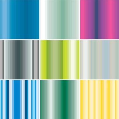 Stripes Patterns background design vectors