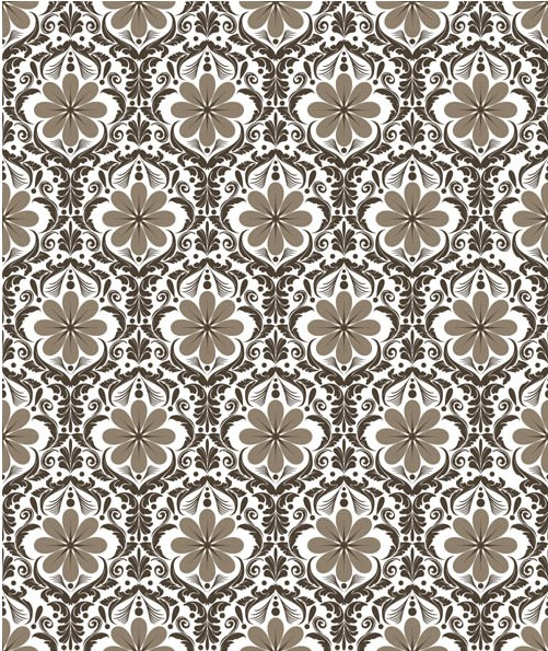 Stylish Damask Patterns 5 vectors