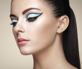 Stylish make-up woman Stock Photo 03