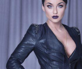 Stylish make-up woman Stock Photo 04