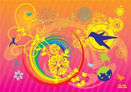 Summer Illustration creative vector