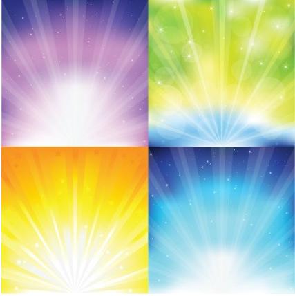 Sunburst Graphics Vector