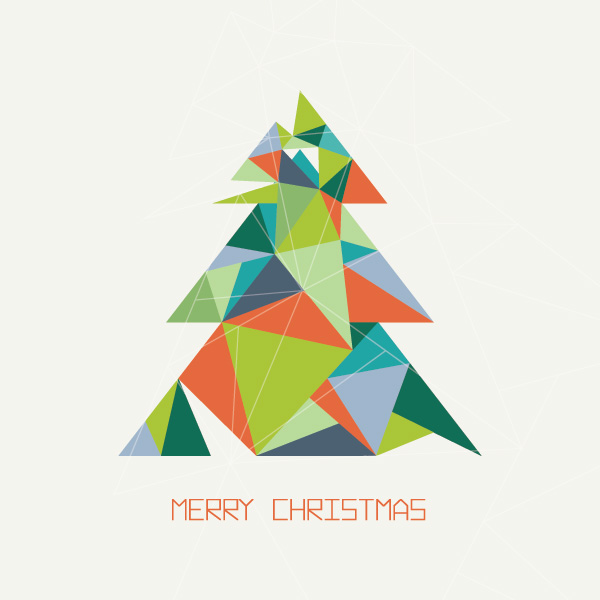 Christmas Tree Tangram