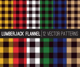 Tartan check plaid seamless pattern vector 02
