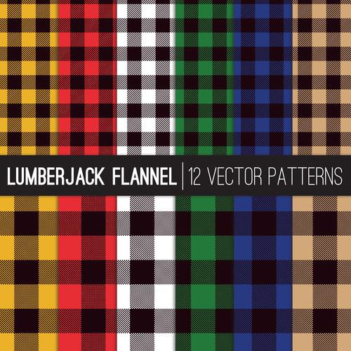 Tartan check plaid seamless pattern vector 02