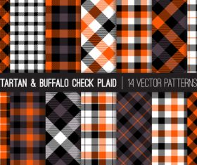 Tartan check plaid seamless pattern vector 03