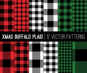 Tartan check plaid seamless pattern vector 04