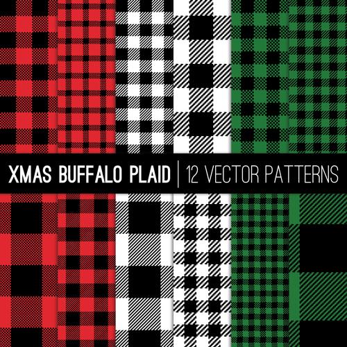 Tartan check plaid seamless pattern vector 04