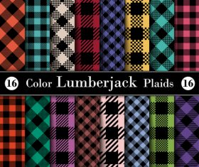 Tartan check plaid seamless pattern vector 06