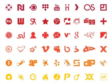 Technology Logos Set vector