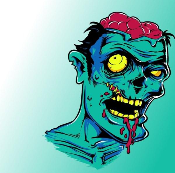 Terror Zombie vector