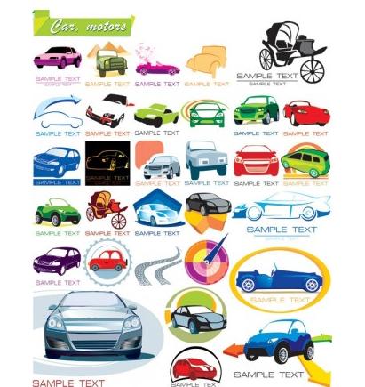 The car icon vectors graphic